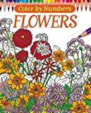 Color By Numbers - Flowers (Chartwell Coloring Books) -
