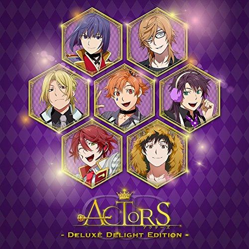 【Amazon.co.jp限定】ACTORS -Deluxe Delight Edition-(ジャケットイラスト缶バッジ「A」付)