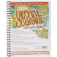 "Strathmore Visual Journal Spiral Bound 9""X12""-100# Drawing (並行輸入品)"