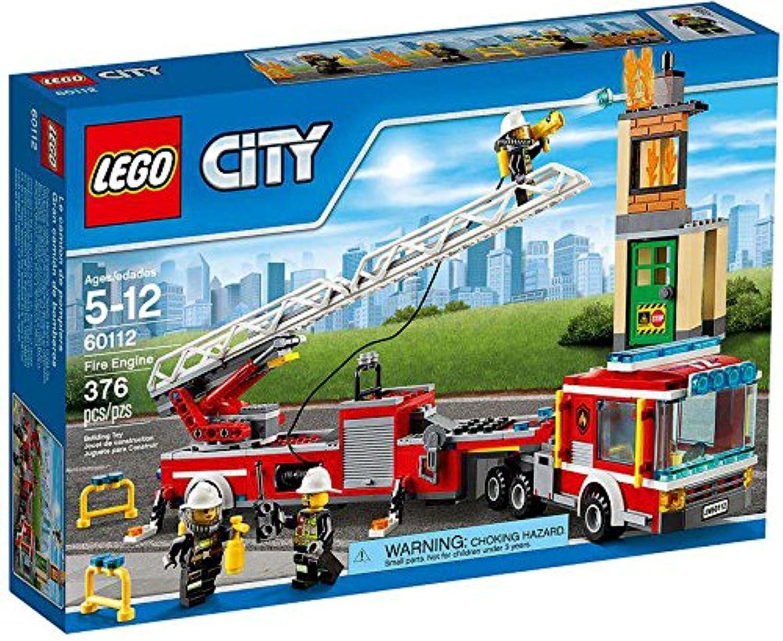 レゴシティ 大型消防車 60112