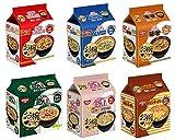 日清 お椀で食べる袋めん 詰め合わせ 6種類各1袋 6袋セット