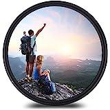 37mm レンズフィルター MC UV レンズ保護フィルター 多層加工 薄枠 撥水防汚紫外線吸収用 各メーカー対応 (37mm)
