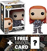 Ygritte : Funko POP 。X Game of Thrones Vinyl Figure + 1 Free official game of thrones Tradingカードバンドル