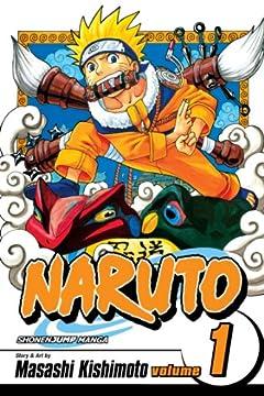 Naruto, Vol. 1: Uzumaki Naruto (Naruto Graphic Novel)の書影