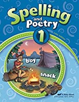 Abeka Spelling and Poetry 1 【Creative Arts】 [並行輸入品]