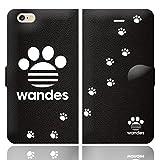 [iPhone6S 6 兼用 手帳型 ケース カバー] WANDES ワンデス :A