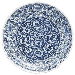 まるか光洋 大皿 濃唐草 直径31.5×高さ5.8cm 業務用 54907016