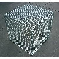折り畳み式ゴミ収集箱 幅600mm×奥行600mm×高さ650mmスチール製 軽量タイプ