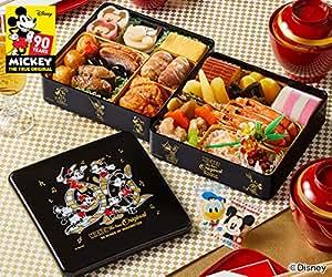 紀文 冷蔵 生詰め 生おせち 二段重「おせち詰合せ/ディズニー」【12月30日お届け】