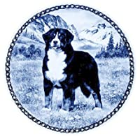 デンマーク製 ドッグ・プレート (犬の絵皿) 直輸入! Bernese Mountain Dog / バーニーズ・マウンテン・ドッグ