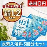 H2バブル 水素入浴剤 (25g×5包)