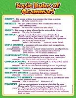 Scholasticルール文法Wordの壁チャート( tf2494)