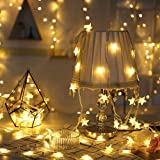 XINKAITE Star String Lights, 9.8ft 20 LED Twinkle Little Star Light, Indoor and Outdoor Decoration for Kids Room, Bedroom, Wa