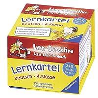 Lern-Detektive. Lernkartei: Deutsch (4. Klasse): Jetzt blick ich durch