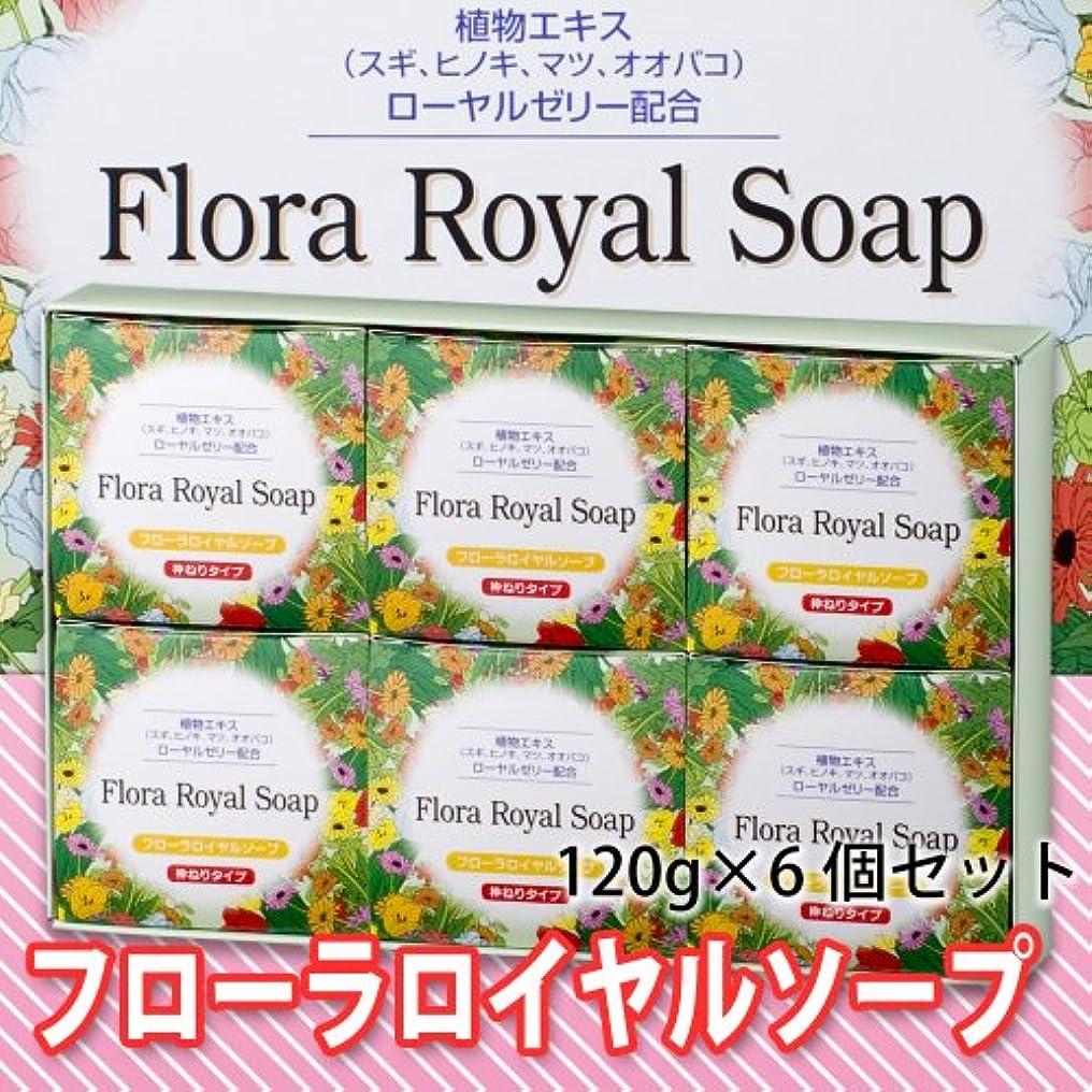 輝度輸血ストリーム【純正品】フローラロイヤルソープ6個セット