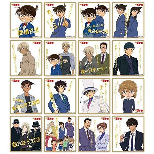 名探偵コナン ビジュアル色紙コレクション2 BOX商品 1BOX16個入り 全16種類