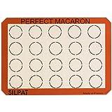 Silpat AE420295-22 Macaron Mat Orange