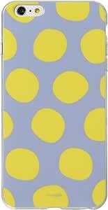 &y アンディ Nordipple iPhone6sPlus iPhone6Plus 対応 5.5インチ ソフトTPUケース 光沢タイプ オオキナミズタマ 黄色×グレー (NP204)