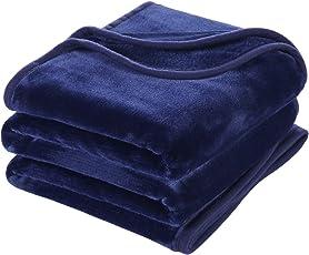 MEROUS 毛布 あったか ふんわり マイクロファイバー ポリエステル100% 保温力 暖かい 静電気減軽 フランネル毛布 ブランケット  抗菌抗臭  柔らか 軽い 洗える