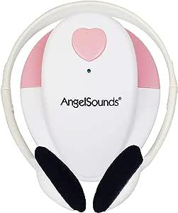 胎児超音波心音計 エンジェルサウンズ Angelsounds JPD-100S マタニティ 妊娠 ベビー 医療機器認証取得 正規品 (ピンク)