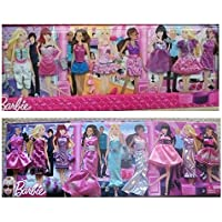 Barbie Ultimate Daytime and Nighttime Doll Fashion Clothes with Accessories Mix & Match 18 Sets