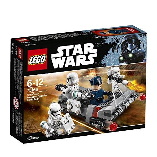 レゴ(LEGO)スター・ウォーズ ファースト・オーダー トランスポート・スピーダー 75166