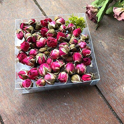 ローズヘッド 10g 約50個 たくさん ドライフラワー ハーバリウム 花材 キャンドル