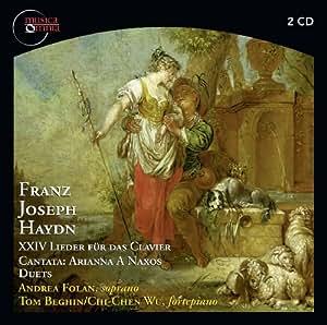 Haydn: Lieder; Cantata Arianna a Naxos; Duets