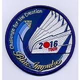 航空自衛隊 ブルーインパルス2016年ツアーワッペン・パッチ(ベルクロ付き)