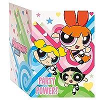 Powerpuff Girls Party Invitations [8 per Pack]