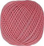 オリムパス製絲 金票40番 レース糸 単色 10g 89m col.154 3玉セット 赤 ピンク オレンジ 系統