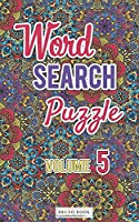Word Search Puzzles: Word search travel size pocket book (5x8 inch) volume 5 (Word Search Travel Size Book)