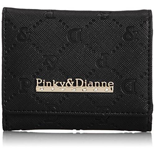 [ピンキーアンドダイアン] Pinky&Dianne サフィアーノエンボス 三ツ折BOX折財布 PDLW4TS4 10 (ブラック)
