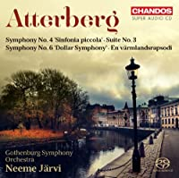 Atterberg: Symphony No. 4 ''Sinfonia Piccola'; Suite No. 3; Symphony No. 6 'Dollar Symphony'; En varmlandsrapsodi by Hesselink (2013-03-26)