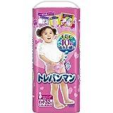 【パンツ ビッグサイズ】トレパンマン女の子 トイレトレーニング用 (12~22kg)32枚