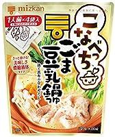 ミツカン こなべっち ごま豆乳鍋つゆ 4袋