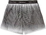 (カルバンクライン)Calvin Klein Boxer Matrix Woven Slim Fit Boxer トランクス 53671513 98 ステッププリントブラック L