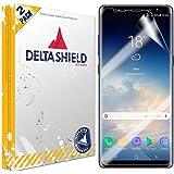 DeltaShield Screen Protector for Samsung Galaxy Note 8 (2-Pack)(Case Compatible Design) BodyArmor Anti-Bubble Military-Grade