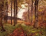 ハンス・アンダーソンBrendekilde A Woodland Landscape 45.00x35.00