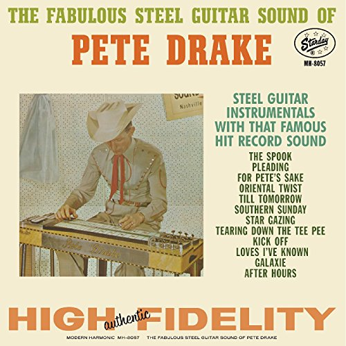 THE FABULOUS STEEL GUITAR SOUND OF PETE DRAKE [LP] (COLORED VINYL) [12 inch Analog]