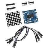 DIYキット MAX7219 8x8ドットマトリックス LEDディスプレイモジュール Arduino用