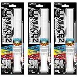 【3本セットでお得】ルミカ ルミエース2 オメガ 24段階カラーチェンジペンライト 【キラキラタイプ】 コンサートグッズ 4LED搭載