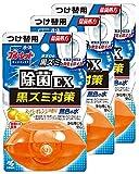 【まとめ買い】液体ブルーレットおくだけ除菌EX トイレタンク芳香洗浄剤 詰め替え用 スーパーオレンジの香り 70ml×3個
