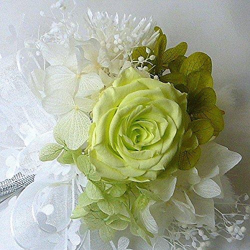194【コサージュ プチS】(プリザーブドバラ)【結婚式、入...