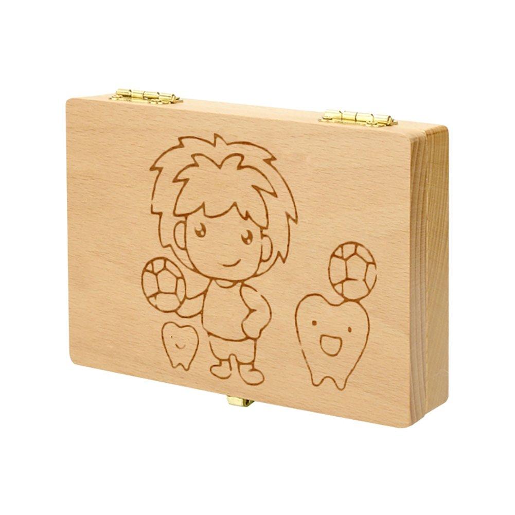 子供の成長の証 プレゼント用 乳歯入れボックス記念 トゥースボックス 防虫効果 名前と抜けた日シール付き 男の子 女の子 二つのタイイプ ケース 赤ちゃん用 かわいい ボーイズ ガールズ (♡ボーイズ)