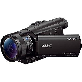 ソニー SONY ビデオカメラ FDR-AX100 4K 光学12倍 ブラック Handycam FDR-AX100 BC