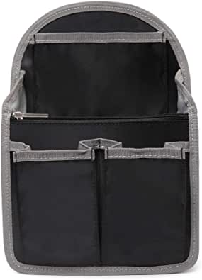 バッグインバッグ リュック 15ポケット 収納整理 miniバッグ 小さめ 軽量 ナイロン インナーバッグ インナーポケット 収納力抜群 仕分け デイパック・ザックに便利 メンズ レディース bag in bag