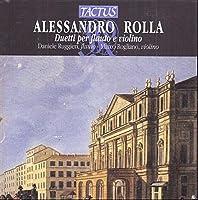 Duetti Per Flauto E by ALESSANDRO ROLLA (2013-08-05)