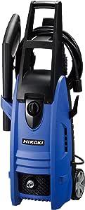 HiKOKI(ハイコーキ) 旧日立工機 家庭用高圧洗浄機 水道接続式 AC100V 1200W 10m高圧ホース付 ブルー FAW105