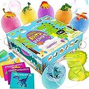 Dino Egg Bath Bombs with Surprise Inside for Kids Dinosaur in Each Fizz Egg Surprise Eggs – Dino bomb for Bonu